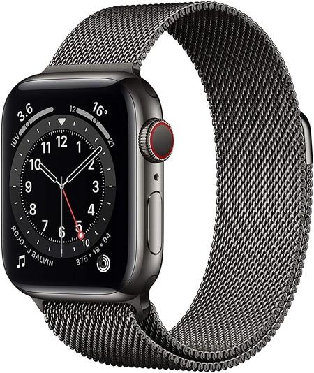 Apple Watch 6 acero inoxidable de oferta en Amazon México por Hot Sale 2021