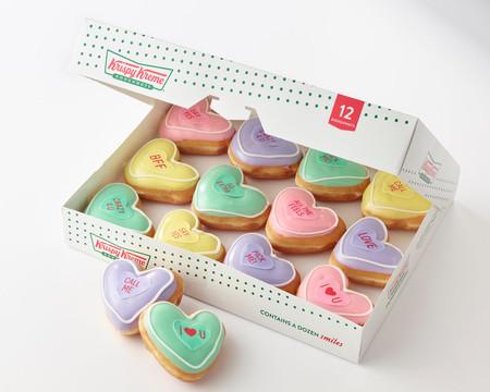 Krispy Kreme lanza donas en forma de corazón para el Día de San Valentín