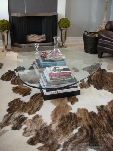 Mesa de café con libros