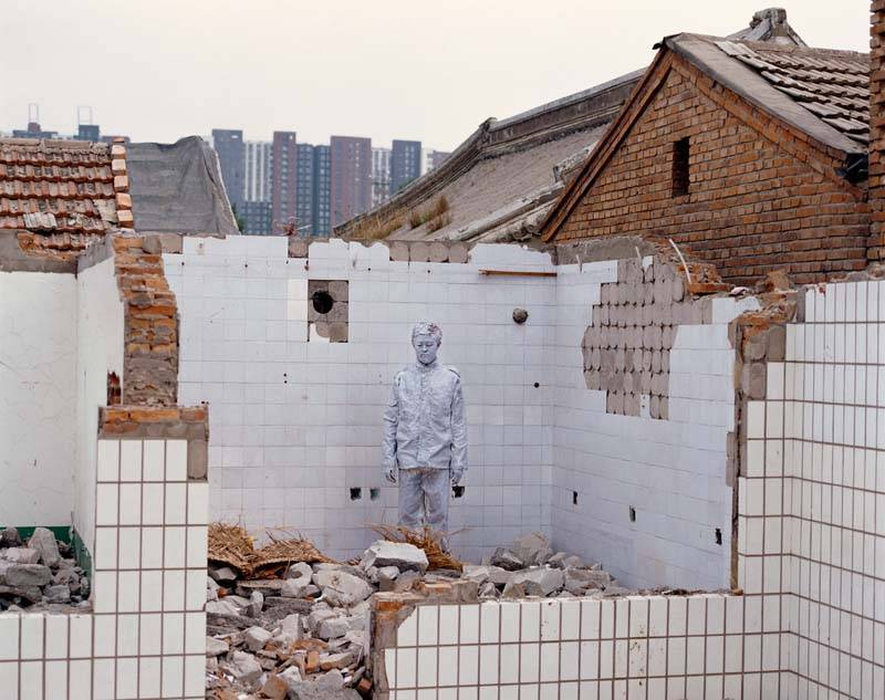 Foto de Hiding in the City: el hombre invisible. Liu Bolin (3/50)