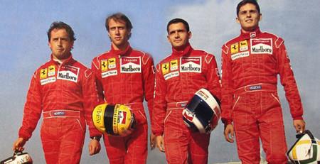 El día que Ferrari regaló un test de Fórmula 1 a cuatro pilotos italianos