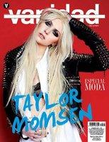 El look rockero de Taylor Momsen en la portada de Vanidad