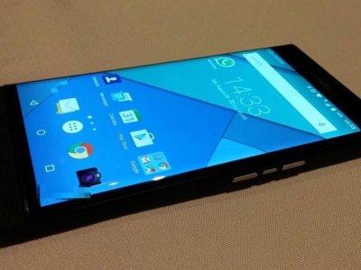 Más fotografías de BlackBerry Venice, el primero con Android