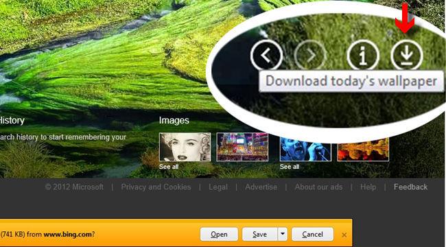 Control de descarga de imágenes