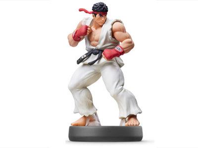 Así será su aspecto final, muestran los amiibos de Roy y Ryu