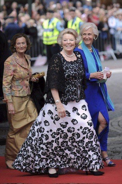 Boda de la Princesa Victoria de Suecia: Reina Beatrix