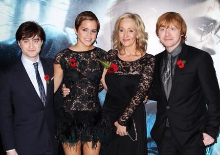 J.K. Rowling escribirá una nueva película de la saga Harry Potter