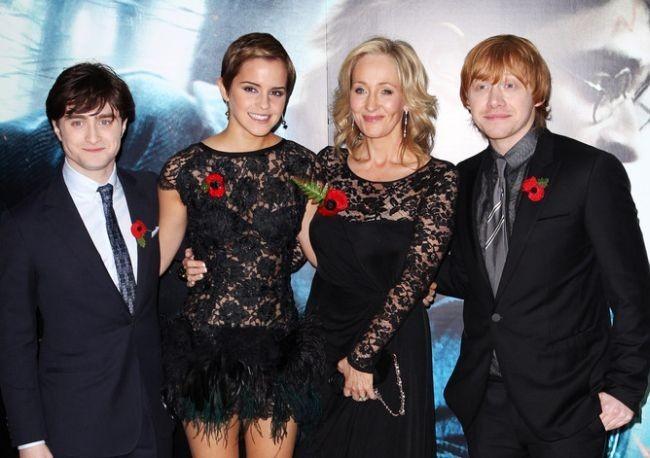 Grint en el preestreno de Harry Potter y las Reliquias de la Muerte