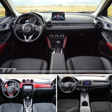 Mazda Cx 3 Suzuki Vitara Honda Hr V Interior