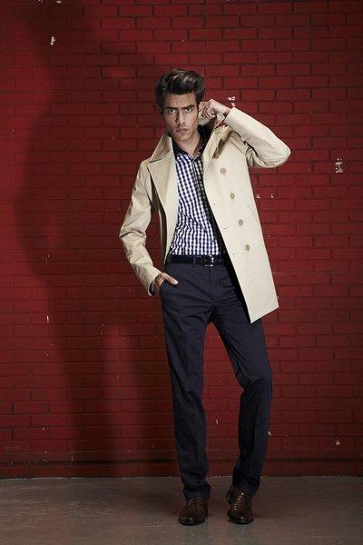 Jon Kortajarena de nuevo en el lookbook de Karl Lagerfeld para esta Primavera-Verano 2011