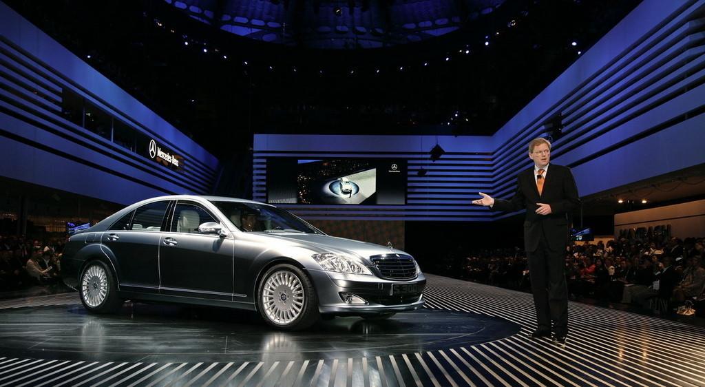 Salón de Frankfurt 2007: Mercedes Benz