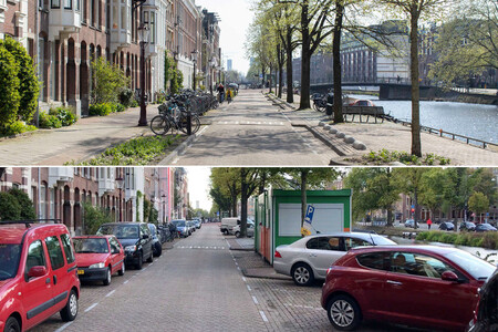 Ámsterdam ha encontrado una solución para su problema con los coches. Meterlos bajo el agua