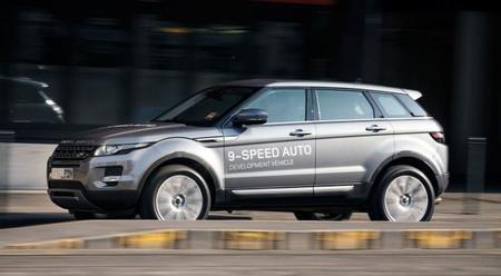 Range Rover Evoque, ahora con caja de cambios ZF de 9 velocidades