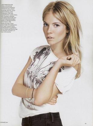 Twenty8twelve de Sienna Miller en la revista Vogue
