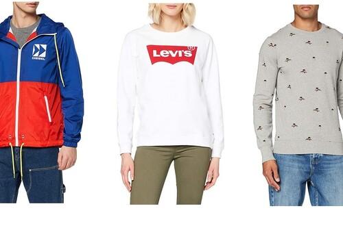 11 ofertas en sudaderas de marcas como Levi's, Superdry o Diesel para renovar armario este otoño en Amazon