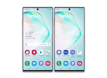 Samsung Galaxy Note 10 Plus Escritorio Fabrica