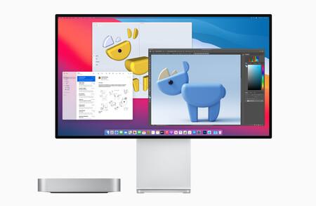 Así queda el nuevo Mac mini con Apple Silicon frente al modelo anterior con Intel