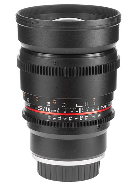 Samyang V-DSLR 16mm T2.2 ED AS UMC CS