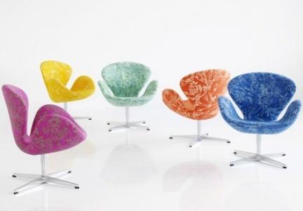 La silla Swan rediseñada por Arne Jacobsen