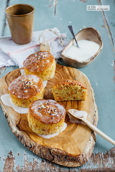 Muffins Zanahoria