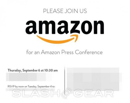 Invitación Amazon