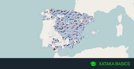 Cómo ver el estado de las carreteras a tiempo real con el mapa interactivo de la DGT
