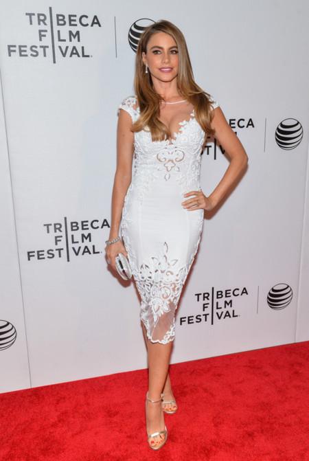 Sofia Vergara vestido Tribeca 2014