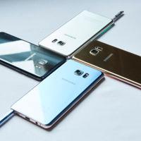 El Samsung Galaxy Note 7 frente a sus rivales: destacar es difícil