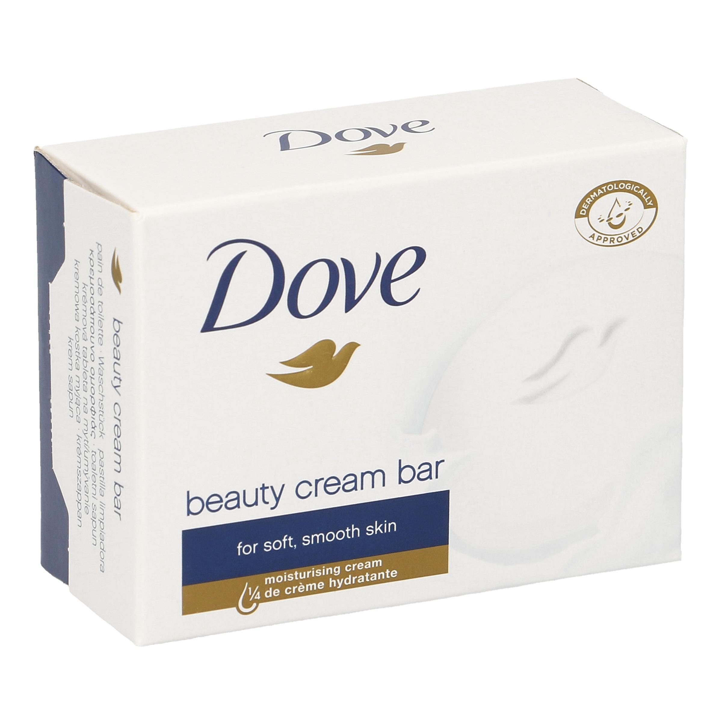 jabón hidratante en pastilla Dove