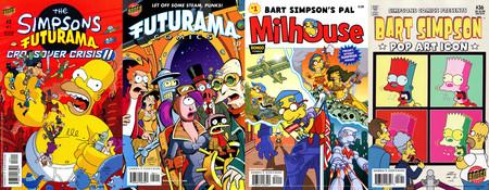 Cameos en los cómics de los Simpson