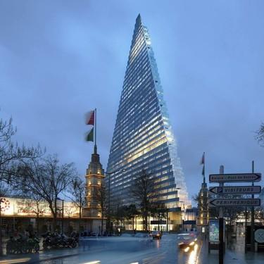 Tour Triangle, el nuevo rascacielos que Herzog & de Meuron  construirá en París