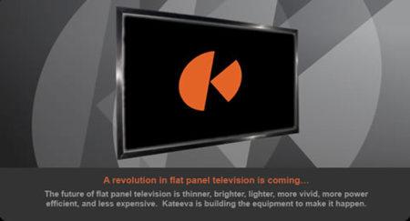 Kateeva imprimirá televisores OLED económicos