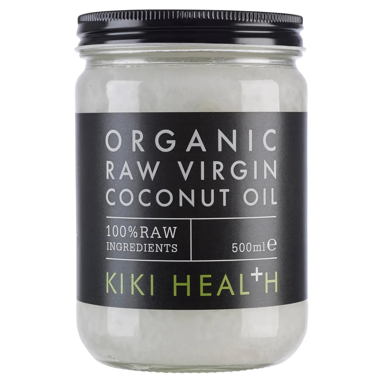 Aceite virgen de coco crudo y orgánico de KIKI Health