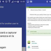 Inkwire es lo nuevo de Koush para compartir la pantalla de tu móvil