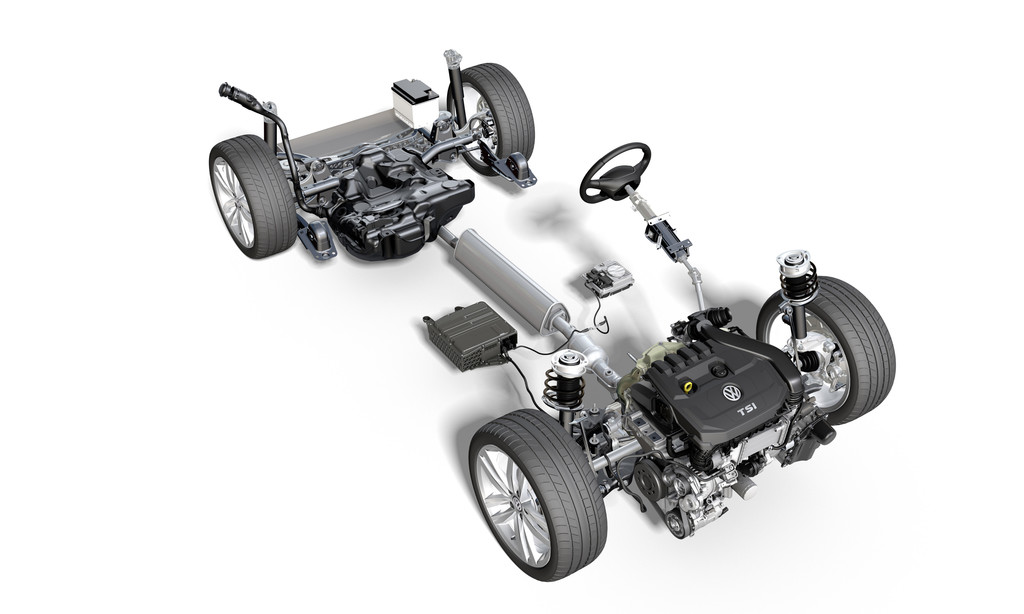 El nuevo Volkswagen Golf VIII estrenará sistemas microhíbridos para los 1.0 TSI y 1.5 TSI