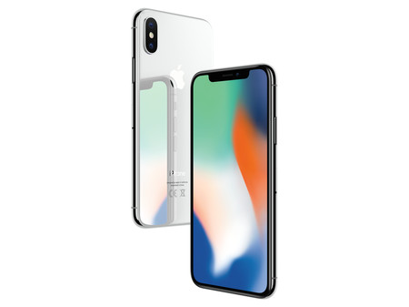 Iphone X Plata 1