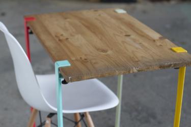 TIPTOE, las patas de mesa universales que darán color a tu casa