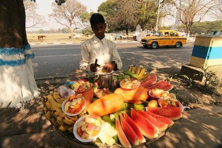 puesto fruta
