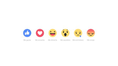 Facebook inicia las pruebas de 'Reactions' en Colombia