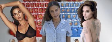 """¿Quién es quién? Las claves para distinguir a Nicole Poturalski, la nueva """"ilu"""" de Brad Pitt, de sus gemeliers Irina Shayk y Angelina Jolie"""