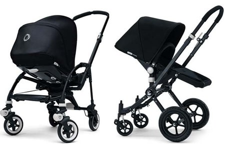 Bugaboo Bee y Camaleon All Black: los carritos Bugaboo todos negros