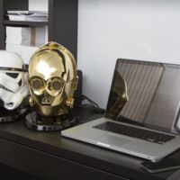 Dentro de estas cabezas de personajes de Star Wars se esconden unos altavoces Bluetooth