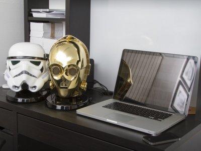 Dentro de estas cabezas de personajes de Star Wars se esconden unos altavoces Bluetooth