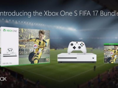 Xbox One S y FIFA 17 se unen en dos packs de 500 GB y 1 TB [GC 2016]