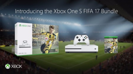 Xbox One S y FIFA 17 se unen en dos packs de 500 GB y 1 TB [GC 2016]