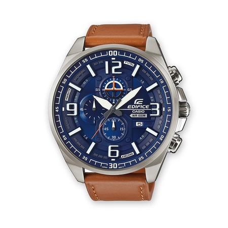 ba12bbe0fb0e Por 95 euros puedes hacerte con este reloj Casio Edifice con correa de  cuero en Amazon