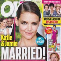 ¿Cuántas veces han casado a Katie Holmes?