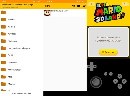 Emulador 3ds Citra Android