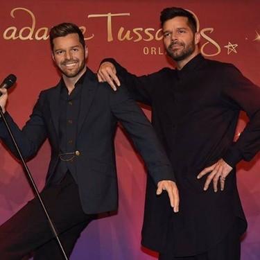 Creo que veo doble a Ricky Martin
