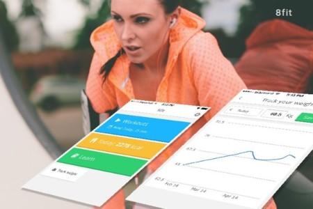 8fit, una completa aplicación que te ayuda a ponerte en forma